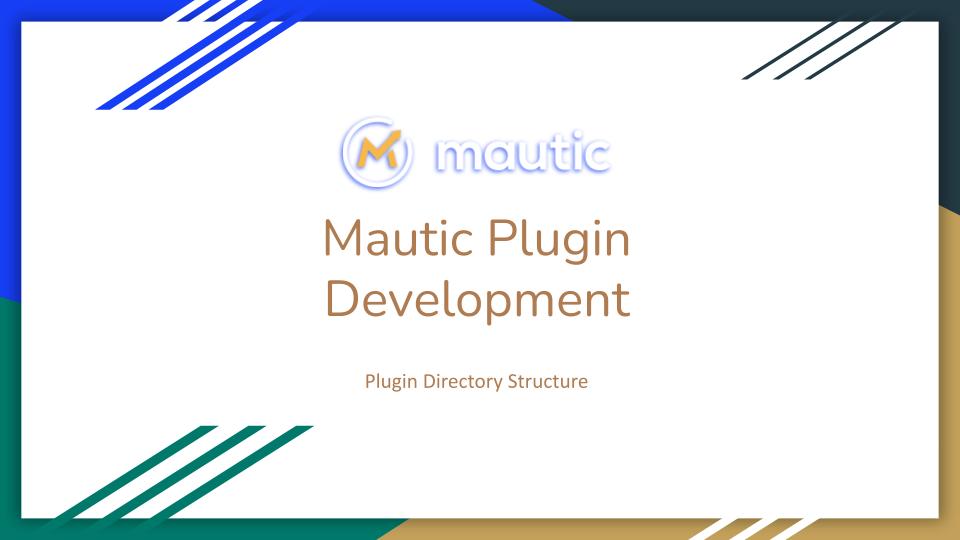 mautic plugin tutorial directory structure cover