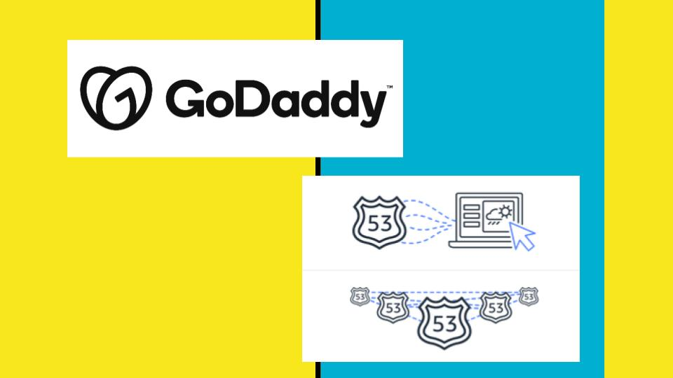 point godaddy domain to route 53