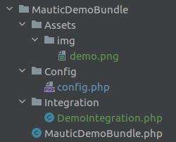 mautic plugin integration dir