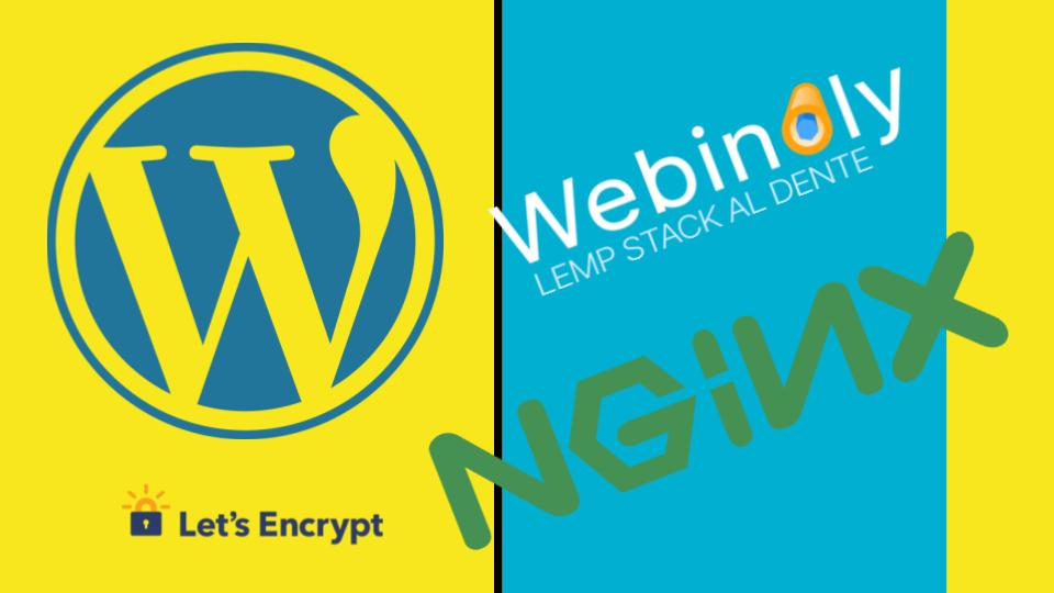 wordpress letsencrypt nginx webinoly