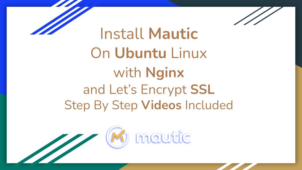 Install Mautic on Ubuntu
