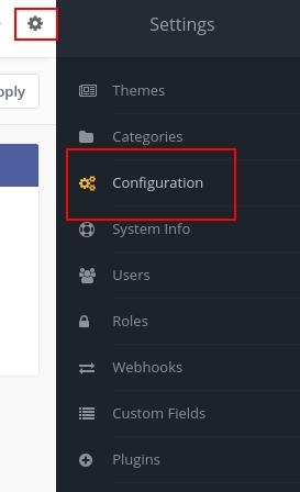 mautic settings configuration