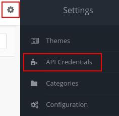 mautic settings api credentials