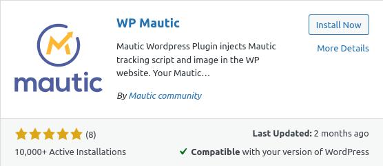 wp mautic plugin