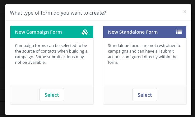 multi step form standalone Form